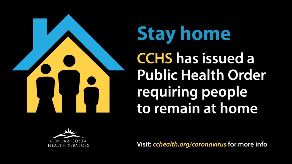 "Contra Costa County Health Services ""Stay at Home"" image"