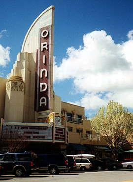 Outside Of Orinda Theatre